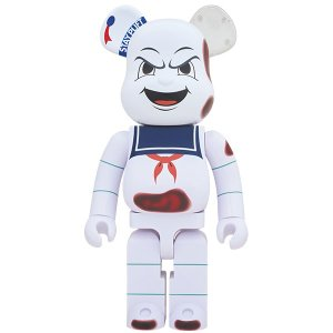 "BE@RBRICK STAY PUFT MARSHMALLOW MAN ""ANGER FACE"" 1..."