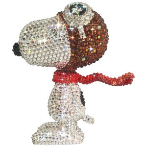 UDF CRYSTAL DECORATE SNOOPY SNOOPY THE FLYING ACE《2019年11月より順次発送予定》|project1-6