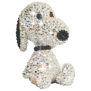 UDF CRYSTAL DECORATE SNOOPY TEDDY BEAR SNOOPY《2019年11月より順次発送予定》|project1-6
