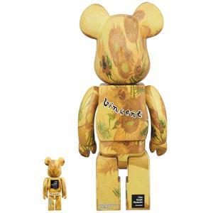 BE@RBRICK 「Van Gogh Museum」 Sunflowers 100% & 400%《2019年12月発売・発送予定》|project1-6|02