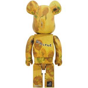 BE@RBRICK 「Van Gogh Museum」 Sunflowers 1000%《2019年12月発売・発送予定》 project1-6 02