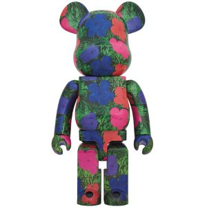 "BE@RBRICK ANDY WARHOL ""Flowers"" 1000%《2020年3月発売・発送予定》