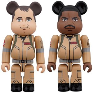 BE@RBRICK GHOSTBUSTERS 100% 2PC SET Peter Venkman/Winston Zeddemore|project1-6