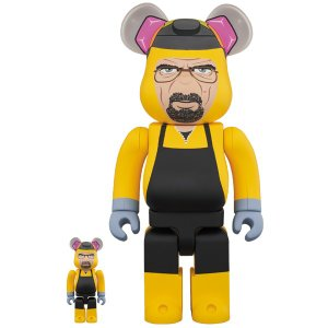 BE@RBRICK Breaking Bad Walter White (Chemical Protective Clothing Ver.) 100% & 400%《2020年6月発売・発送予定》|project1-6
