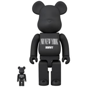 "BE@RBRICK BOOWY ""NO NEW YORK"" 100% & 400%