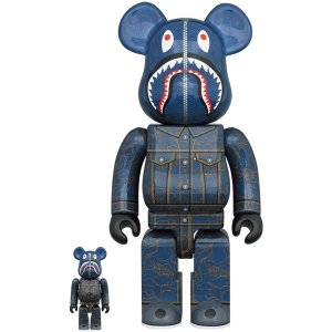 BE@RBRICK BAPE(R) × Levi's(R) 100% & 400%|project1-6