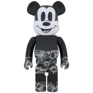 BE@RBRICK BAPE(R) MICKEY MOUSE MONOTONE Ver. 1000%|project1-6