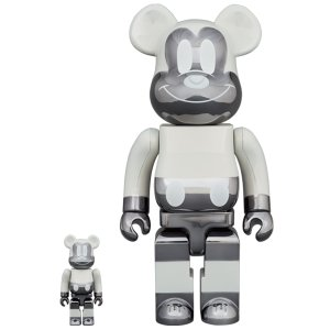 BE@RBRICK fragmentdesign MICKEY MOUSE REVERSE Ver.100% & 400% project1-6