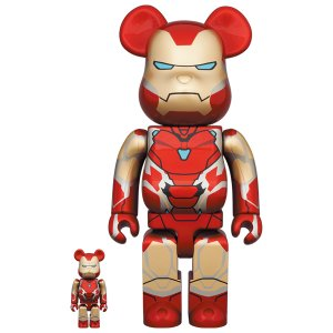 BE@RBRICK IRON MAN MARK 85 100% & 400%|project1-6