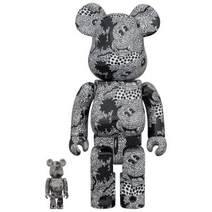 BE@RBRICK Keith Haring Mickey Mouse 100% & 400%の商品画像|ナビ