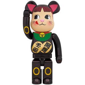 BE@RBRICK 招き猫 ペコちゃん 黒メッキ 1000% project1-6