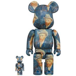 BE@RBRICK「Van Gogh Museum」Self-Portrait with Grey Felt Hat 100% & 400%《2020年12月発売・発送予定》 project1-6