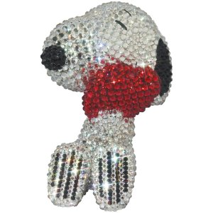 UDF CRYSTAL DECORATE SNOOPY SNOOPY w/HEART《2021年2月より順次発送予定》|project1-6