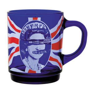 MLE SEX PISTOLS GOD SAVE THE QUEEN GLASS MUG《2016年12月発売予定》|project1-6