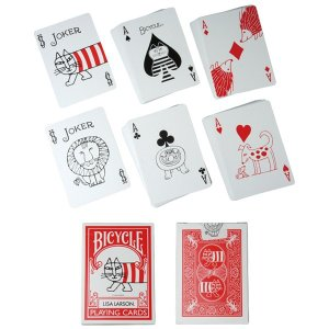 BICYCLE PLAYING CARDS LISA LARSON|project1-6