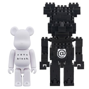 BE@RBRICK × nanoblock TM 2PACK SET A|project1-6