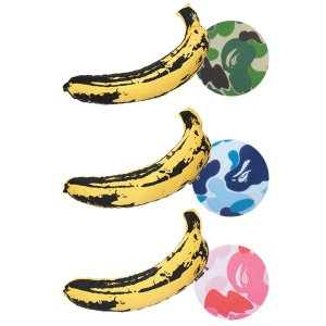 BAPE(R) × MEDICOM TOY LIFE Entertainment × Andy Warhol ABC BANANA (M)|project1-6