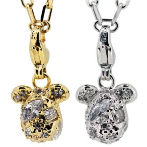 STARDUST BE@RBRICK 3CHARM PENDANT GOLD/SILVER|project1-6