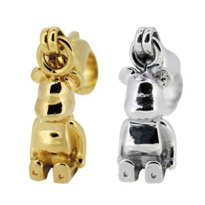 STARDUST BE@RBRICK 3CHARM PENDANT GOLD/SILVER|project1-6|03