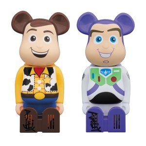 Cleverin BE@RBRICK WOODY/BUZZ LIGHTYEAR|project1-6