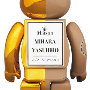BE@RBRICK MIHARAYASUHIRO 100% & 400% GOLD×BROWN/BLACK×BROWN|project1-6|02