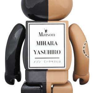 BE@RBRICK MIHARAYASUHIRO 100% & 400% GOLD×BROWN/BLACK×BROWN|project1-6|03