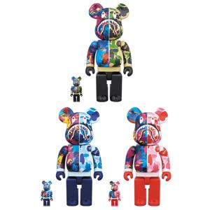 BE@RBRICK BAPE(R) × M / mika ninagawa SHARK 100% & 400%|project1-6|01