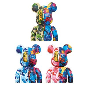 BE@RBRICK BAPE(R) × M / mika ninagawa SHARK 100% & 400%|project1-6|02