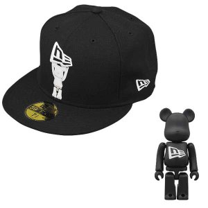 New Era X BE@RBRICK FLAG BLACK*WHITE|project1-6