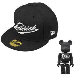 New Era X BE@RBRICK SCRIPT BLACK*WHITE|project1-6