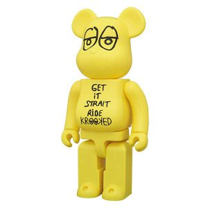 BE@RBRICK(ベアブリック)KROOKED SKATEBOARDS  by Mark Gonzales 400%|project1-6