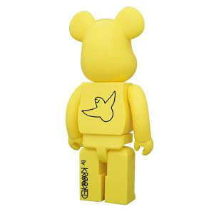 BE@RBRICK(ベアブリック)KROOKED SKATEBOARDS  by Mark Gonzales 400%|project1-6|02