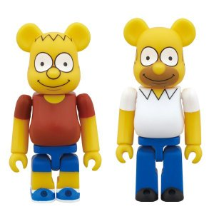 BE@RBRICK THE SIMPSONS BART SIMPSON/HOMER SIMPSON|project1-6