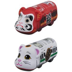 BE@RBRICKTRAIN 達磨(だるま)/招き猫(まねきねこ)|project1-6