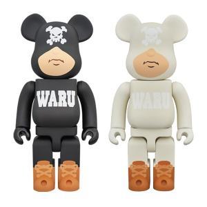 BE@RBRICK TOKYO TRIBE WARU 400% BLACK/WHITE|project1-6