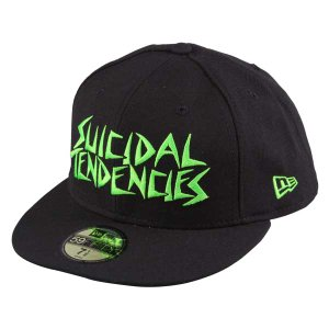 New Era Cap*SUICIDAL TENDENCIES(BLACK*FLUORESCENCE GREEN)|project1-6