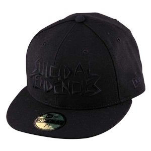 New Era Cap*SUICIDAL TENDENCIES(BLACK*BLACK)|project1-6