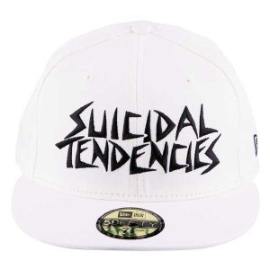New Era Cap SUICIDAL TENDENCIES(WHITE BLACK)  bkcnewera04 PROJECT 1 ... 7944bd6a222