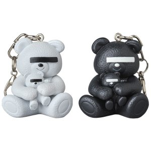 KEYCHAIN UNDERCOVER BEAR WHITE/BLACK|project1-6
