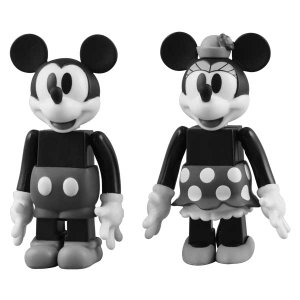 KUBRICK(キューブリック)MICKEY MOUSE & MINNIE MOUSE (BLACK & WHITE ver.)【disney_y】|project1-6