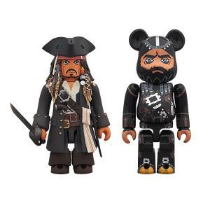 KUBRICK Jack Sparrow & BE@RBRICK Blackbeard(On Stranger Tides)【project 1/6】|project1-6