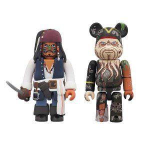 KUBRICK Jack Sparrow Cannibal Eyes ver. & BE@RBRICK Davy Jones(Dead Man's Chest)【project 1/6】|project1-6