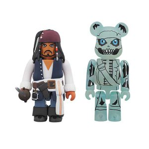 KUBRICK Jack Sparrow & BE@RBRICK Barbossa (The Curse of the Black Pearl)【project 1/6】|project1-6