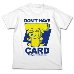 【送料無料対象商品】コスパ ポプテピピック 竹書房カード持ってないよTシャツ WHITE【ネコポス/...