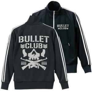 コスパ 新日本プロレスリング BULLET CLUB ジャージ BLACK×WHITE|projectcore