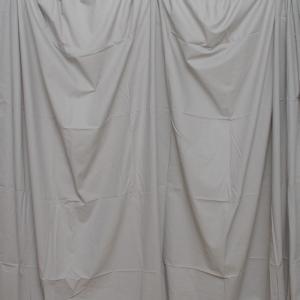 単色モズリン布バック【グレー】(2.8×6m/シームレス/ 継ぎ目無し、袋縫い加工済み) BCP-104|prokizai