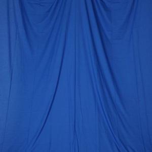 単色モズリン布バック【ブルー】(2.8×6m/シームレス/ 継ぎ目無し、袋縫い加工済み) BCP-106|prokizai