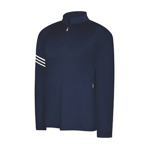 adidas GolfClimaLite Warm 3 Stripes Half Zip Mock|prolinegolf
