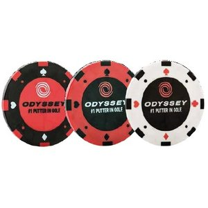 Odyssey Poker Chip Ball Markers オデッセイ ポーカーチップ ボール マーカー|prolinegolf