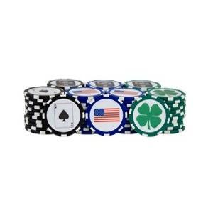 Club Glove Ball Marker Poker Chips クラブグローブ ボールマーカー ポーカー チップス|prolinegolf